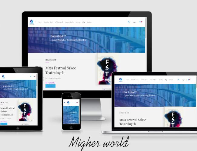 Bookifield - Migher World Portfolio- Migher World Portfolio Web Design, Digital Marketing, E-Commerce, Branding, Creative Design, Website Maintenance., Training Services, Migher World