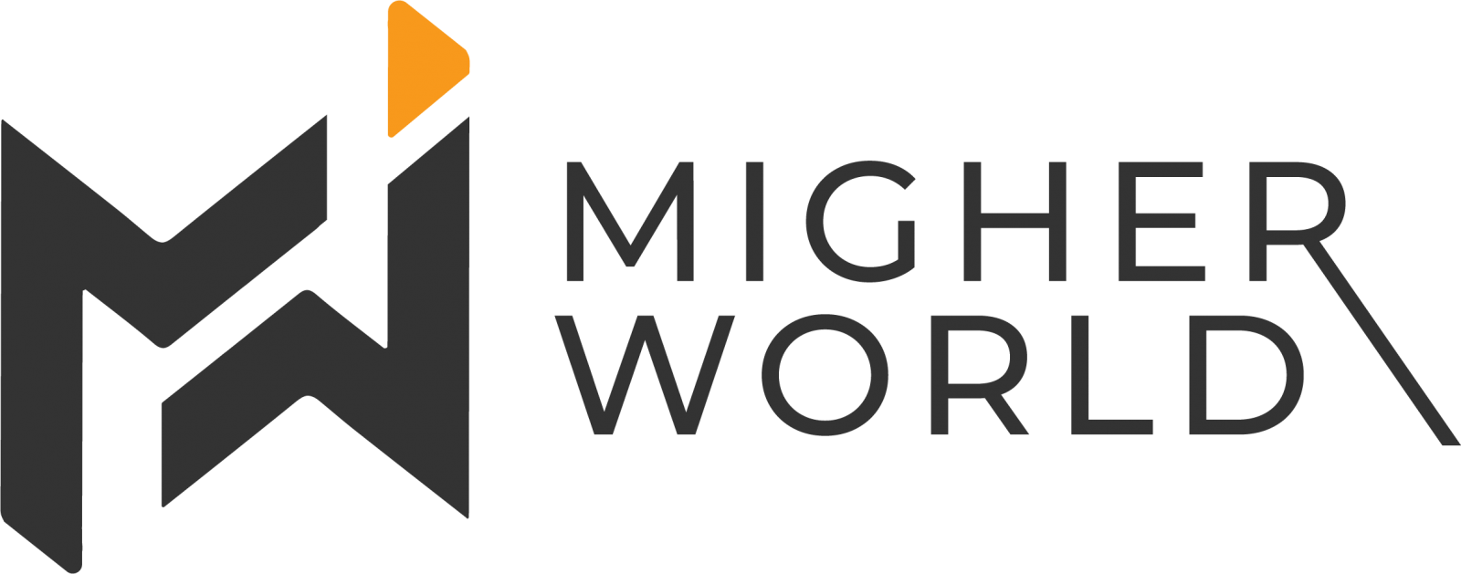 Migher World Logo Main Web Design, Digital Marketing, E-Commerce, Branding, Creative Design, Website Maintenance., Training Services, Migher World
