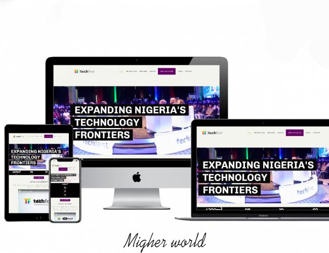 Techfest Web Design, Digital Marketing, E-Commerce, Branding, Creative Design, Website Maintenance., Training Services, Migher World