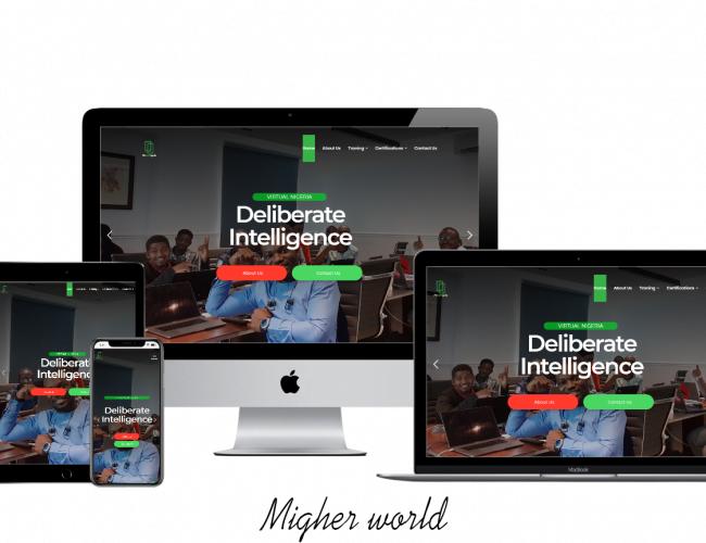 Virtual Nigeria Web Design, Digital Marketing, E-Commerce, Branding, Creative Design, Website Maintenance., Training Services, Migher World