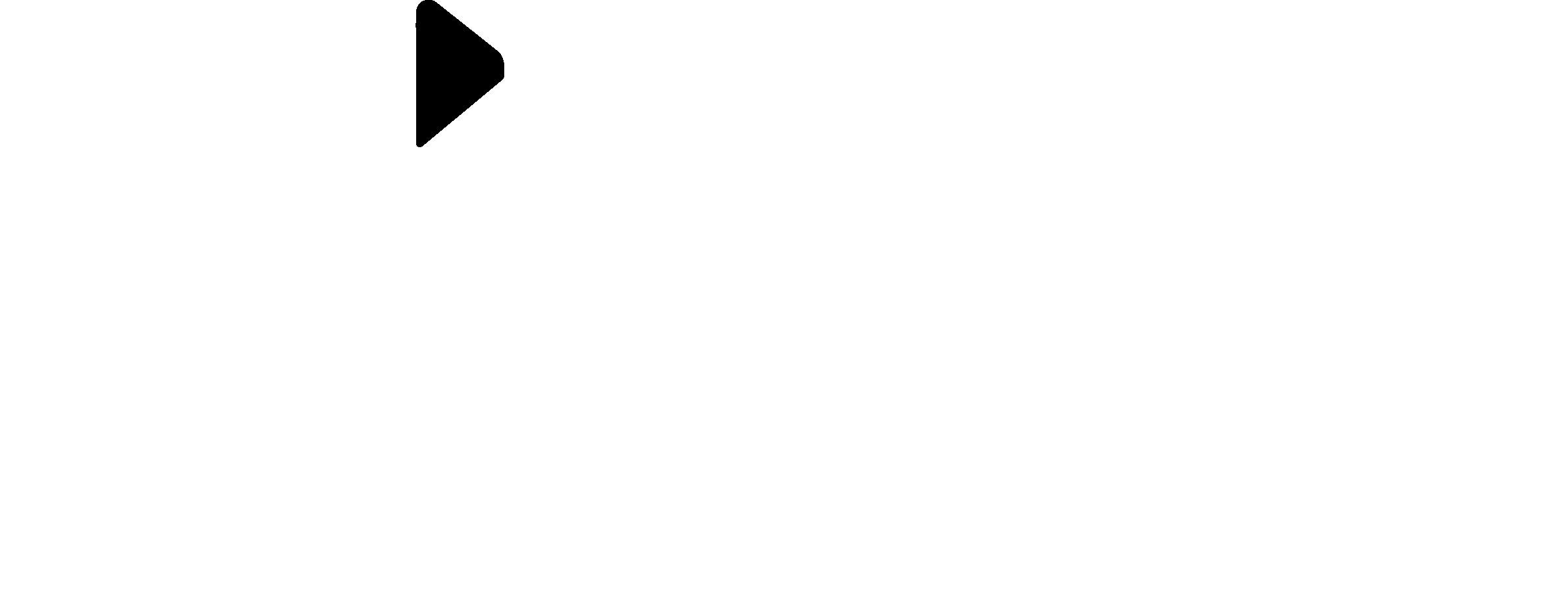 Migher World Logo White with black head